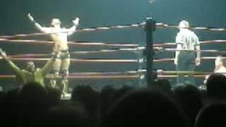 Shawn Michaels vs  Muhamad Hassan bei der Wrestlemania Revenge Tour 2005