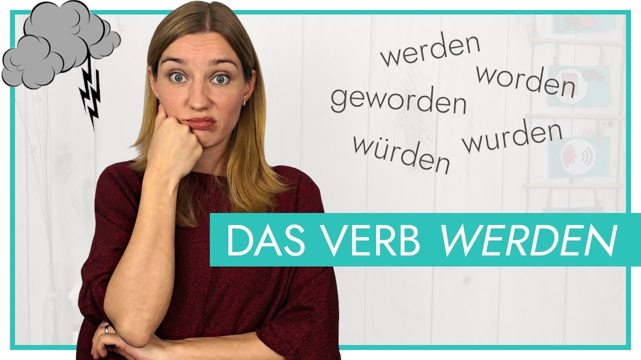 """Download Das Verb """"werden""""   Vollverb, Passiv, Futur (und Konjunktiv II)"""