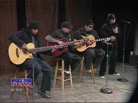 """P.O.D. """"Tell Me Why"""" Live at San Diego Local News Station"""