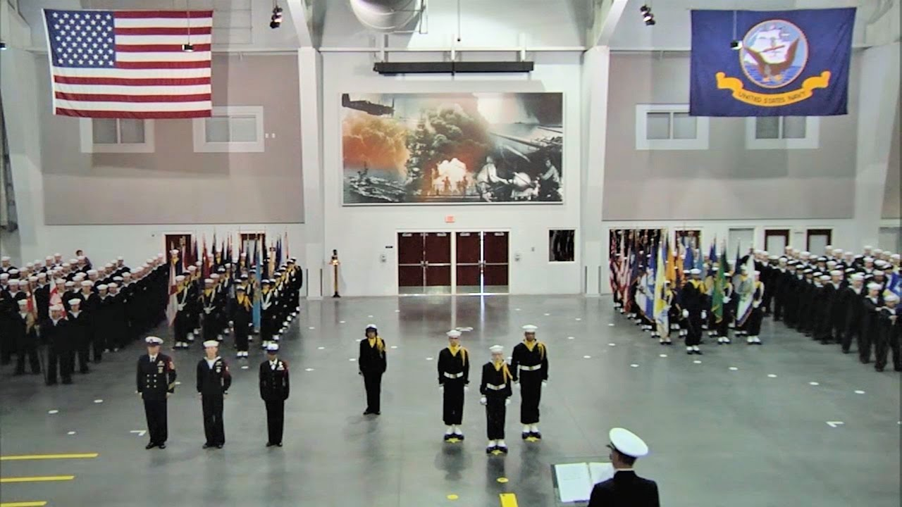 Navy Recruit Training Command Graduation Youtube
