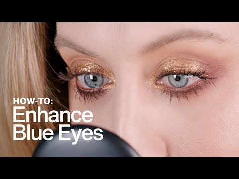 HOW TO: Enhance Blue Eyes   MAC Cosmetics