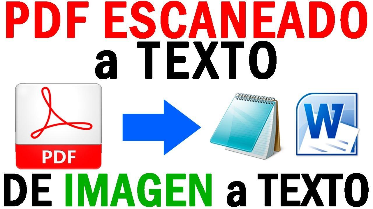 Convertir Pdf Escaneado A Texto Word De Imagen A Texto Con Pdfelement Pro Youtube