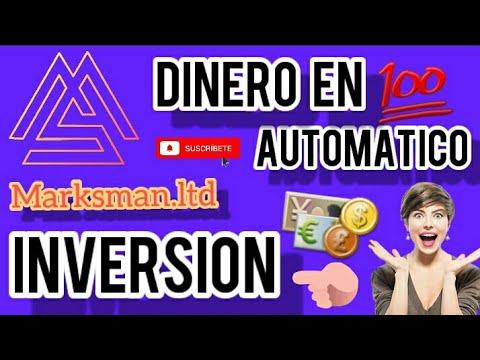 ✓MARKSMAN Como FUNCIONA.? DINER2O en automático 👉 como INVERTIR.? - YouTube