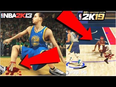 EVOLUTION OF 2K ANKLE BREAKERS ! NEW NBA 2K NBA 2K19 ! RARE ANKLEBREAKER NBA 2K15, 2K16, 2K17, 2K18,