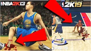 EVOLUTION OF 2K ANKLE BREAKERS ! NEW NBA 2K NBA 2K19 ! RARE ANKLEBREAKER NBA 2K15, 2K16, 2K17, 2K18,