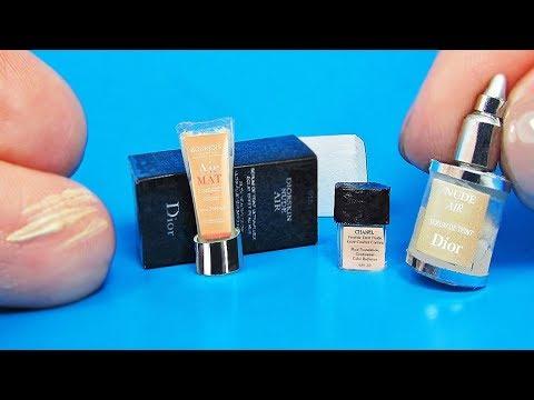 DIY Miniature Foundation Makeup
