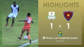 Zesco United 1-1 Primeiro de Agosto   HIGHLIGHTS   Match Day 5   TotalCAFCL