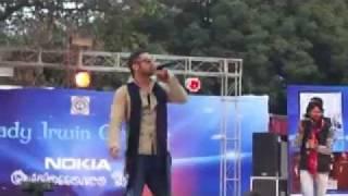 Yo Yo Honey Singh, J-Star, Alfaaz and Mafia Mundeer in Lady Irwin College Fest 2012.wmv