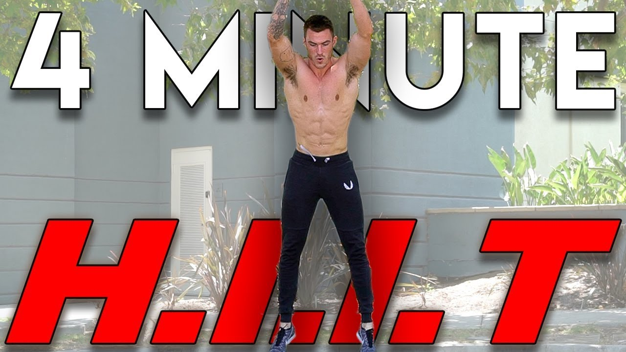 VShred | 4 Minute HIIT Workout to Lose Weight