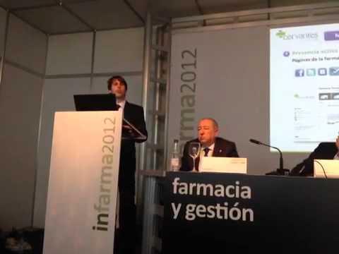 Redes sociales - Farmacia Cervantes Granada en INFARMA 2012
