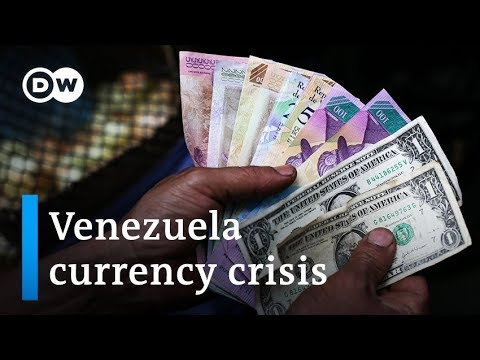 Plummeting bolivar has Venezuelans clamoring for US dollars | DW News