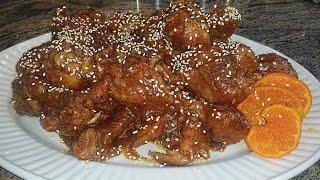 Orange Chicken Drumsticks Curry | Punjabi Style Orange Chicken Recipe