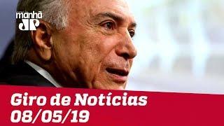 Giro de Notícias - 08/05/2019 - Primeira Edição