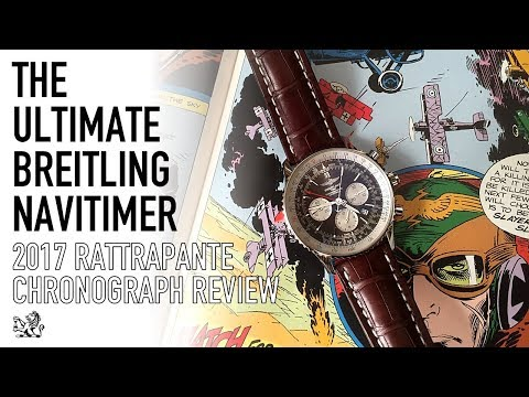 The Ultimate New Luxury Rattrapante Watch – Breitling Navitimer Split Second Chronograph Review