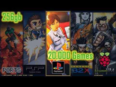 256gb-retropie-4.5.1-king-build-for-pi-3-b---20,000-games