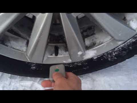 Форд Фокус 3 рестайлинг- активация датчиков давления в шинах.