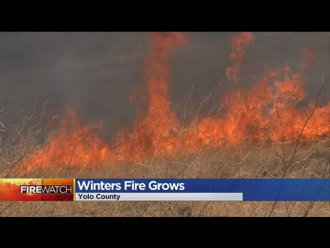 Winters Fire Spreads Rapidly, Puts Yolo County Homeowners On Edge