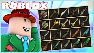I GOT ALL THE EXOTIC KNIVES IN ASSASSIN! | Roblox