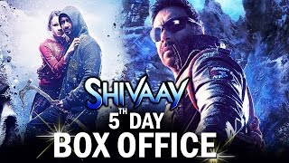 Ajay Devgn's Shivaay 5th Day BOX OFFICE Collection - SUPERB HOLD