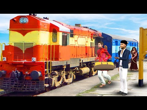 Train Yatra   Hindi Moral Stories   Panchatantra stories Bedtime Fairy Tales