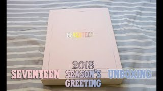 SEVENTEEN 2018 SEASON'S GREETING《WITH CARAT》UNBOXING