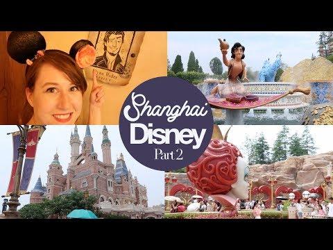 Shanghai Disneyland 2: Alice, Crystal Grotto & Tangled Tree Tavern
