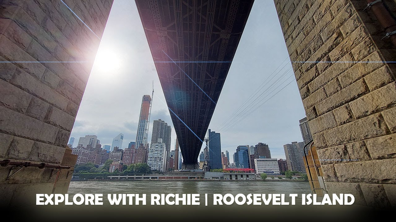 EXPLORE WITH RICHIE | ROOSEVELT ISLAND | #rooseveltisland #travelny #explore