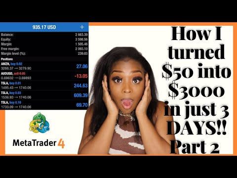 The EASIEST Forex Trading Strategy For Beginners   Grow Small Account Into Larger Account   PART 2