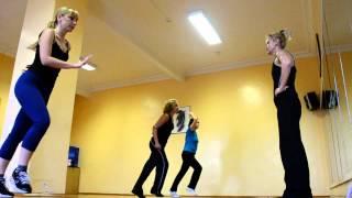 aerobics instructor tanya