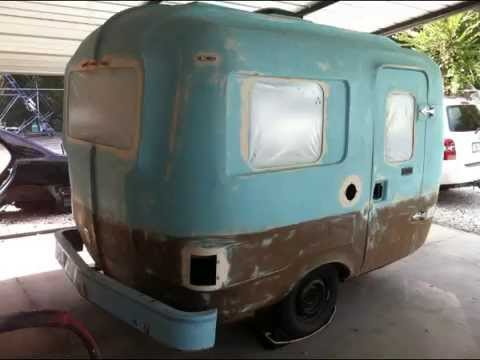 Restoration Of A 1985 UHAUL 10 Camper