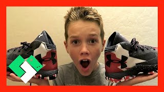 BOY GETS NEW STEPHEN CURRY SHOES  (Day 1640)