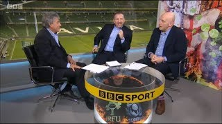 BBC pundits discuss 6 Nations promotion/relegation