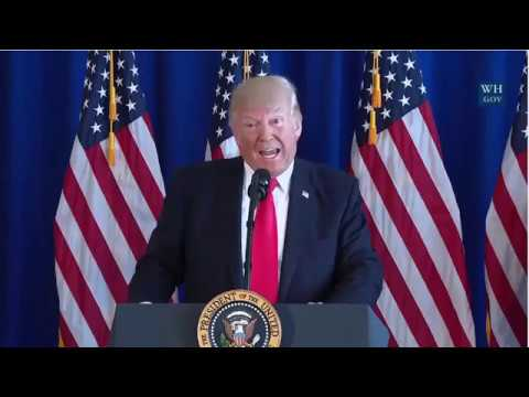 BREAKING NEWS: President Donald Trump Delivers statement on Charlottesville Virginia Rally