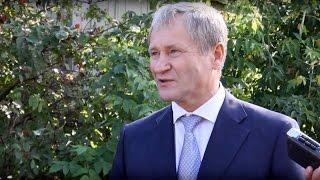 Алексей Кокорин об открытии памятника ветеранам локальных войн в Частоозерье