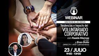 Webinar CERES: Tendencias e Impacto del Voluntariado Corporativo