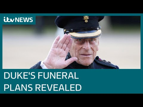Prince Philip's funeral details revealed | ITV News