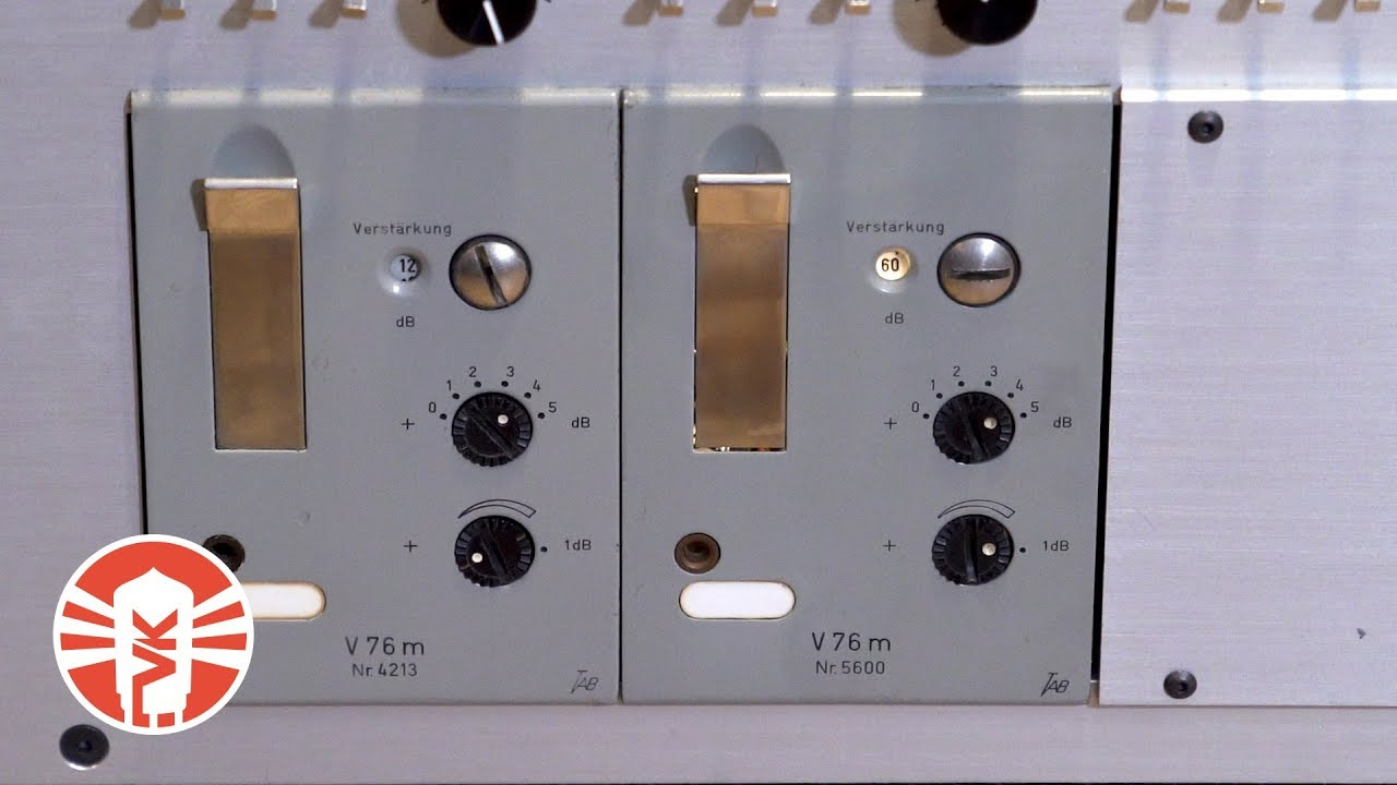 Vintage V76 Mic Pre vs  Universal Audio V76 Plug-In Shootout   Vintage King