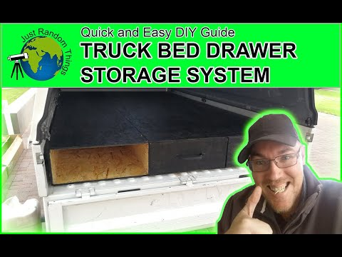 Truck Bed Drawer Storage System - Quick and Easy (2019 DIY Guide)