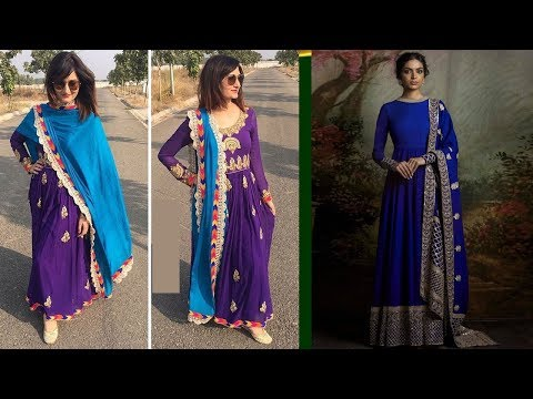Long Anarkali Gown Dress Designs 2017 (Part 55)
