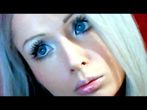 Real Life Barbie Uses Air and Light For Food - Valeria Lukyanova