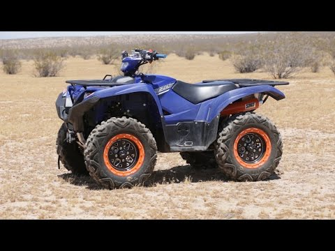 Project 2016 Yamaha Grizzly - Dirt Wheels Magazine