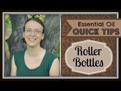 Quick Tip: Roller Bottles for Essential Oils