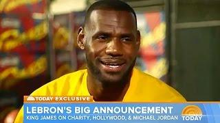 LeBron James Says He Can Take Anyone 1-on-1, Including Michael Jordan