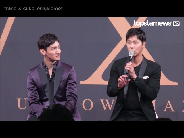 [ENG SUBS] 東方神起 (TVXQ) - Press Con in Seoul 17.08.21