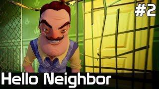 Hello Neighbor Po Polsku [#2] OGLĄDAM Kotki w PIWNICY SĄSIADA