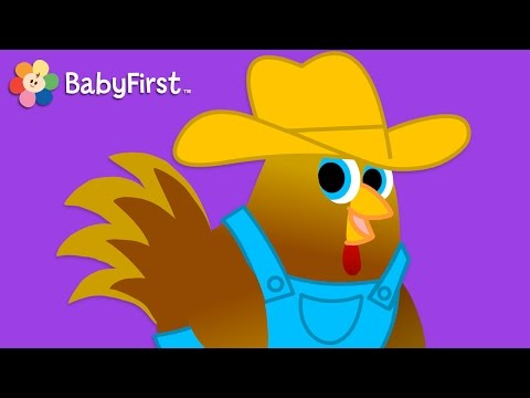 The Farmer in the Dell with Lyrics | Music Videos | BabyFirst TV