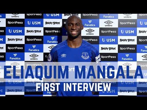 ELIAQUIM MANGALA: FIRST INTERVIEW