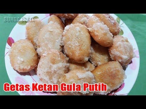 Resep Kue Getas Ketan Dengan Gula Putih