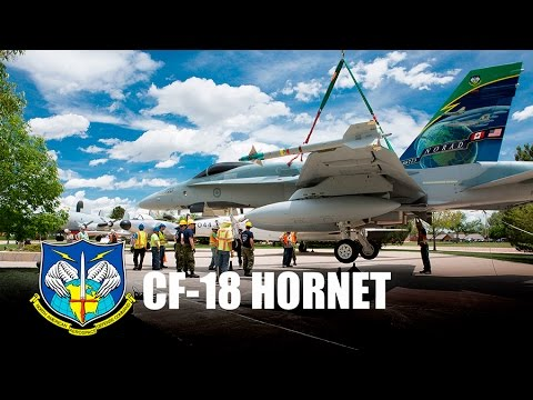 Canadian CF-18 Museum Display Ceremony