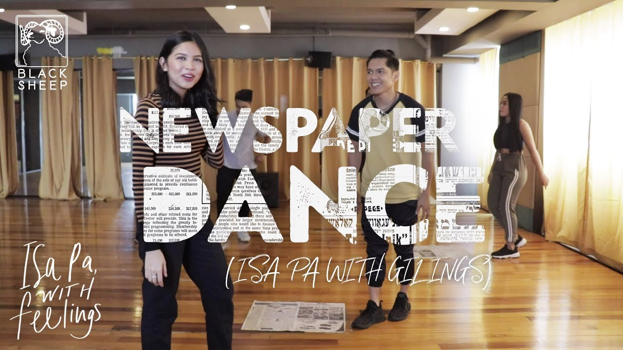 Download Isa Pa With Gilings (Newspaper Dance) | Carlo Aquino and Maine Mendoza | Isa Pa With Feelings